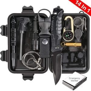 Puhibuox Survival Gear Kit